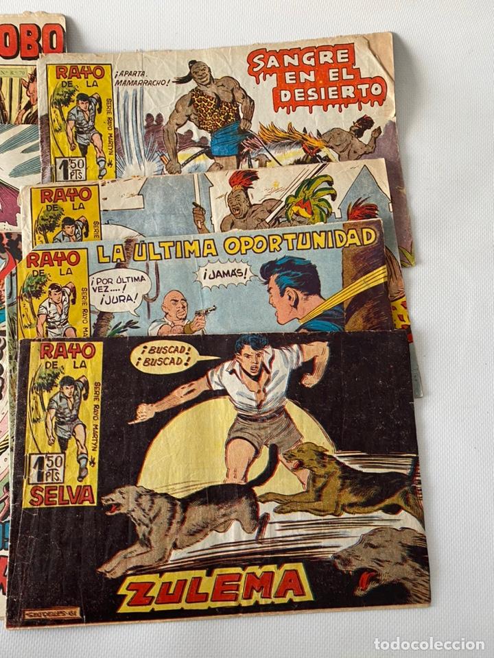 Tebeos: Lote de cómics VIEJO DE LA MAZMORRA, MÁQUINAS DIABOLICAS, PIEL DE LOBO, EL SARGENTO VIRUS, RAYO SELV - Foto 5 - 243862945