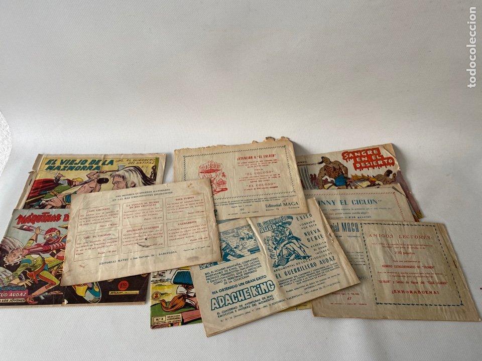Tebeos: Lote de cómics VIEJO DE LA MAZMORRA, MÁQUINAS DIABOLICAS, PIEL DE LOBO, EL SARGENTO VIRUS, RAYO SELV - Foto 6 - 243862945