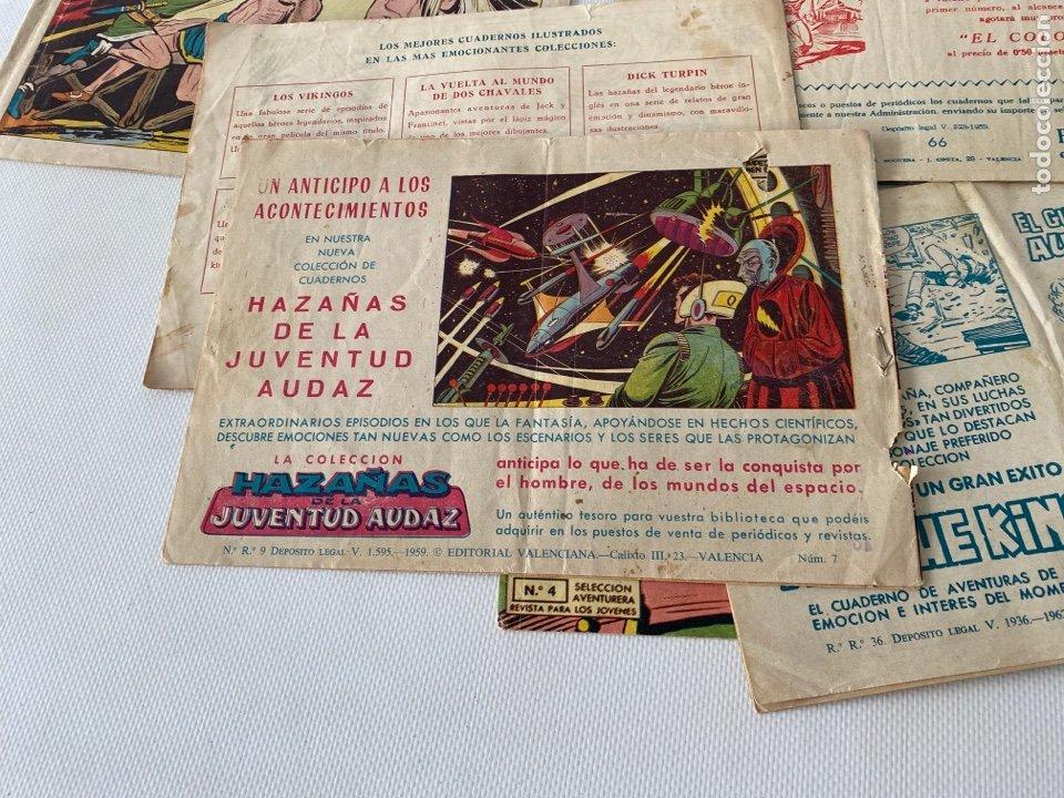 Tebeos: Lote de cómics VIEJO DE LA MAZMORRA, MÁQUINAS DIABOLICAS, PIEL DE LOBO, EL SARGENTO VIRUS, RAYO SELV - Foto 7 - 243862945