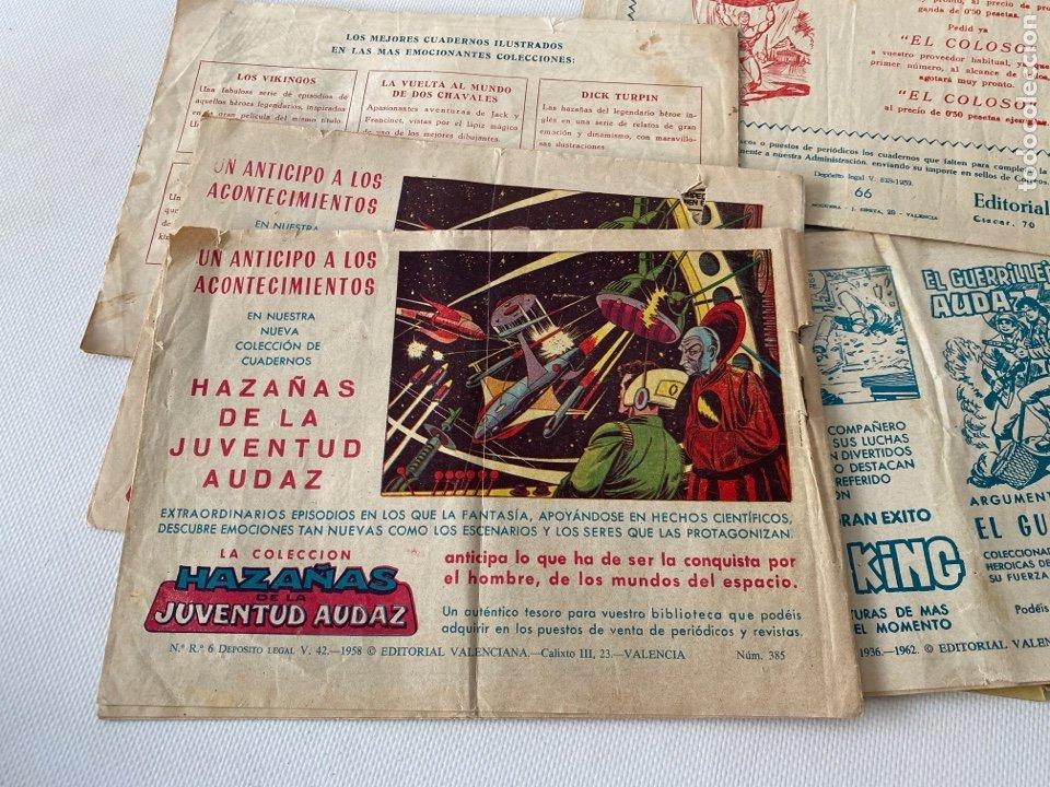 Tebeos: Lote de cómics VIEJO DE LA MAZMORRA, MÁQUINAS DIABOLICAS, PIEL DE LOBO, EL SARGENTO VIRUS, RAYO SELV - Foto 8 - 243862945