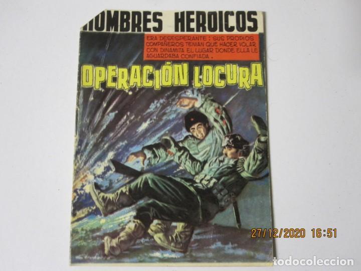 HOMBRES HEROICOS NUMERO 4 OPERACIÓN LOCURA ED. MAGA, 1962 (Tebeos y Comics - Maga - Otros)