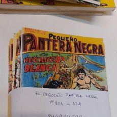 Tebeos: LOTE DE 24 NUMEROS, PEQUEÑO PANTERA NEGRA DEL 101 AL 124 ,EDITORIAL MAGA, REEDICION. Lote 244984890