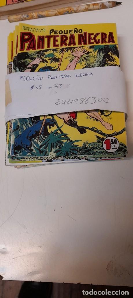 LOTE DE 21 NUMEROS, PEQUEÑO PANTERA NEGRA DEL 55 AL 75 ,EDITORIAL MAGA, REEDICION (Tebeos y Comics - Maga - Pantera Negra)