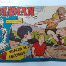 Tebeos: OLIMÁN-AS DEL DEPORTE- Nº 84 -VÍSPERA DE EMOCIONES-1962-GRAN RICARDO ACEDO-CORRECTO-DIFÍCIL-LEA-4370. Lote 246096770