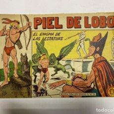 Tebeos: PIEL DE LOBO. Nº 81 - EL ENIGMA DE LAS ESTATUAS. EDITORIAL MAGA.. Lote 247035740