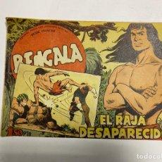 Tebeos: BENGALA. Nº 18 - EL RAJA DESAPARECIDO. EDITORIAL MAGA.. Lote 247036100