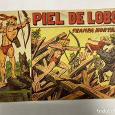 Tebeos: PIEL DE LOBO. Nº 82 - TRAMPA MORTAL. EDITORIAL MAGA.. Lote 247036650