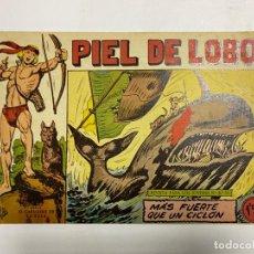 Tebeos: PIEL DE LOBO. Nº 39 - MÁS FUERTE QUE UN CICLÓN. EDITORIAL MAGA.. Lote 247037225