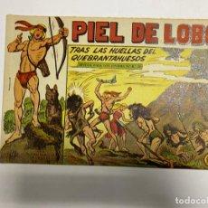 Tebeos: PIEL DE LOBO. Nº 63 - TRAS LAS HUELLAS DEL QUEBRANTAHUESOS. EDITORIAL MAGA.. Lote 247041050