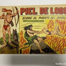Tebeos: PIEL DE LOBO. Nº 64 - SOBRE EL PUENTE DEL DIABLO. EDITORIAL MAGA.. Lote 247041100