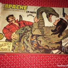 Tebeos: APACHE 2ª PARTE - 32 CUADERNILLOS ORIGINALES - AÑO 1960 - EDITORIAL MAGA - ENCUADERNADOS Nº 36 AL 67. Lote 247805110