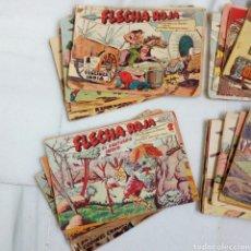 Livros de Banda Desenhada: LOTE DE 51TEBEOS FLECHA ROJA. COMPLETOS ORIGINALES ANTIGUOS. EDITORIAL MAGA. Lote 248023100