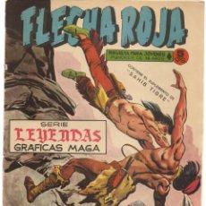 Livros de Banda Desenhada: FLECHA ROJA. Nº 23. CONTIENE EL SUPLEMENTO DE SAHIB TIGRE. MAGA(C/A3). Lote 45967908