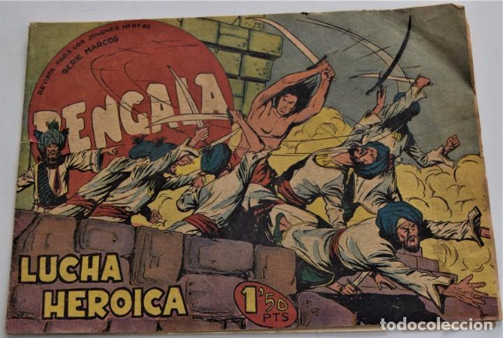 BENGALA Nº 34 - EDITORIAL MAGA AÑO 1959 (Tebeos y Comics - Maga - Bengala)