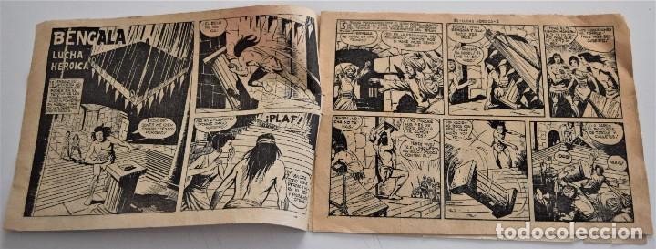 Tebeos: BENGALA Nº 34 - EDITORIAL MAGA AÑO 1959 - Foto 3 - 249513470