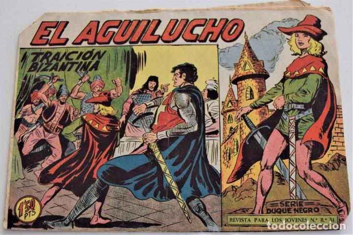 EL AGUILUCHO Nº 58 - EDITORIAL MAGA AÑO 1959 (Tebeos y Comics - Maga - Otros)