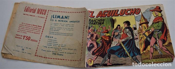 Tebeos: EL AGUILUCHO Nº 58 - EDITORIAL MAGA AÑO 1959 - Foto 2 - 249513690