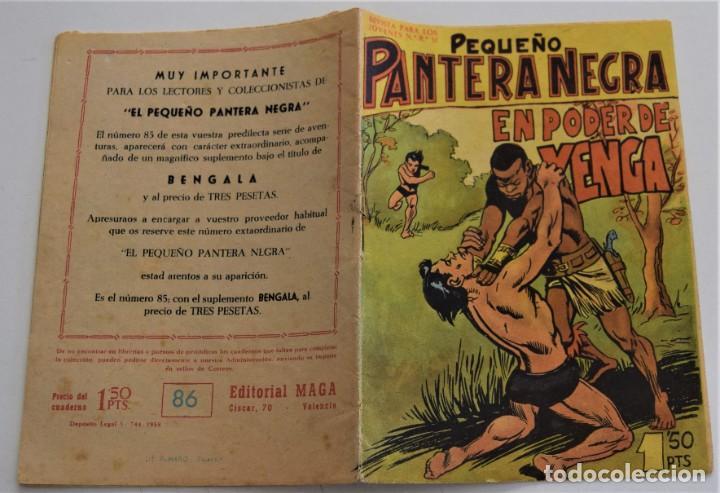 Tebeos: PEQUEÑO PANTERA NEGRA Nº 86 - EDITORIAL MAGA AÑO 1958 - Foto 2 - 249514065