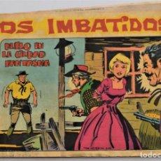 Tebeos: LOS IMBATIDOS Nº 15 - EDITORIAL MAGA AÑO 1963. Lote 249514340