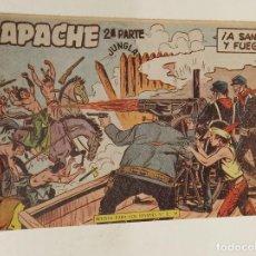 Tebeos: APACHE 2ª PARTE Nº 33 / MAGA ORIGINAL. Lote 250124235