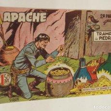 Tebeos: APACHE 2ª PARTE Nº 40 / MAGA ORIGINAL. Lote 250124885