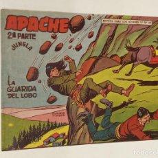 Tebeos: APACHE 2ª PARTE Nº 45 / MAGA ORIGINAL. Lote 250125245