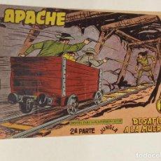 Tebeos: APACHE 2ª PARTE Nº 65 / MAGA ORIGINAL. Lote 250132460