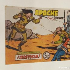 Livros de Banda Desenhada: APACHE 2ª PARTE Nº 67 / MAGA ORIGINAL. Lote 250132610