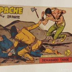 Tebeos: APACHE 2ª PARTE Nº 74 / MAGA ORIGINAL. Lote 250133425