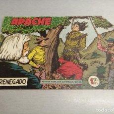 Tebeos: APACHE 2ª PARTE Nº 3 / MAGA ORIGINAL. Lote 250138285
