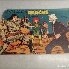 Tebeos: APACHE 2ª PARTE Nº 9 / MAGA ORIGINAL. Lote 250138645