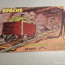 Tebeos: APACHE 2ª PARTE Nº 65 / MAGA ORIGINAL. Lote 250139580