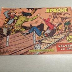 Tebeos: APACHE 2ª PARTE Nº 66 / MAGA ORIGINAL. Lote 250139660