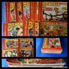 BDs: BENGALA 2 PARTE ORIGINAL - FALTAN Nº 39 Y 40 -PARA ESTAR COMPLETA-SIN PICOS CORTADOS. Lote 250169810