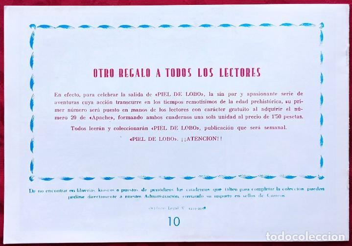 Tebeos: APACHE - EL CERCO - Nº 10 ORIGINAL - EDITORIAL MAGA - 1958 - Buen estado de conservacion - Foto 3 - 251033690