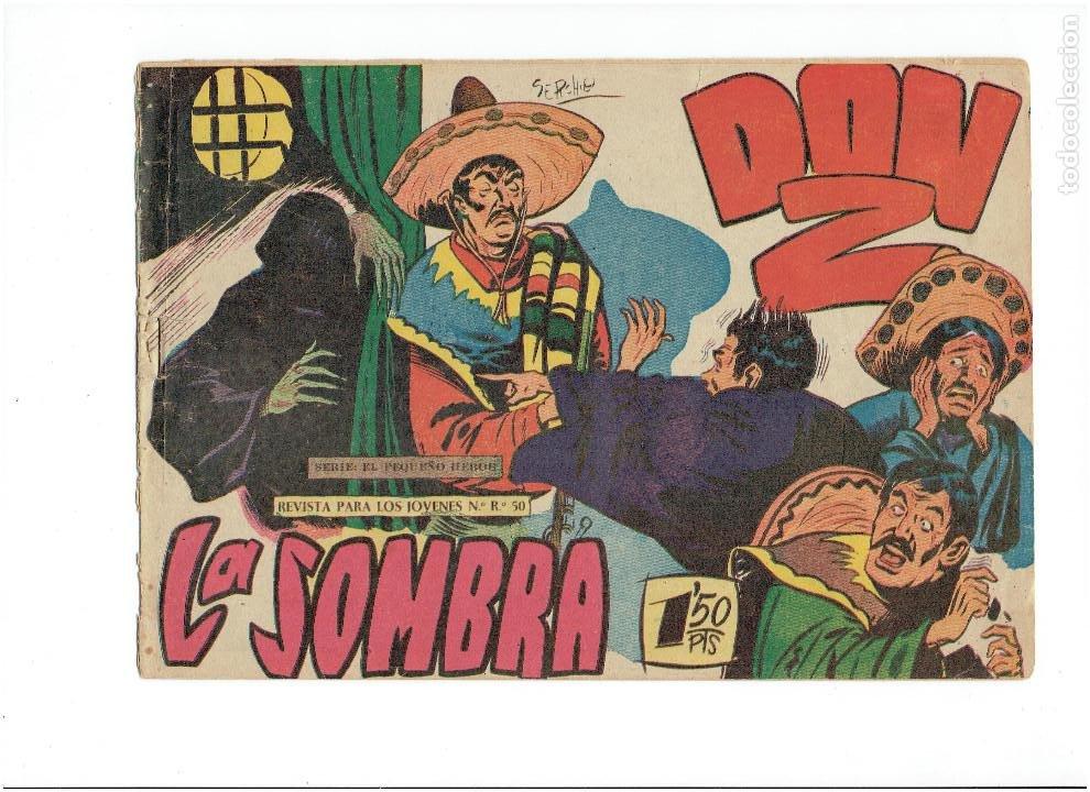 ARCHIVO * DON Z * Nº 17, 21, (SERIE EL PEQUEÑO HÉROE) MAGA 1958 * (Tebeos y Comics - Maga - Don Z)