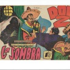 Tebeos: * DON Z * Nº 17 : LA SOMBRA (SERIE EL PEQUEÑO HÉROE) MAGA 1958 *. Lote 251346205