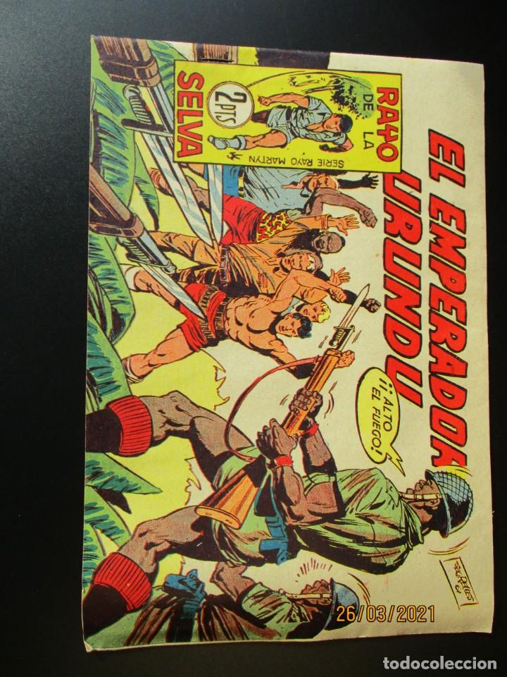 RAYO DE LA SELVA (1960, MAGA) 61 · 14-VIII-1961 · EL EMPERADOR URUNDU (Tebeos y Comics - Maga - Rayo de la Selva)