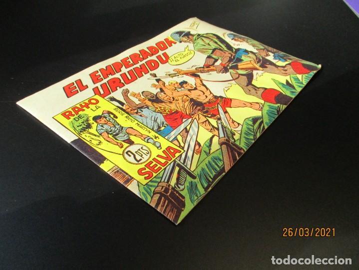 Tebeos: RAYO DE LA SELVA (1960, MAGA) 61 · 14-VIII-1961 · EL EMPERADOR URUNDU - Foto 2 - 251445090