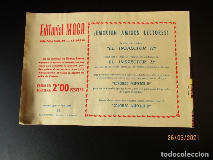 Tebeos: RAYO DE LA SELVA (1960, MAGA) 61 · 14-VIII-1961 · EL EMPERADOR URUNDU - Foto 3 - 251445090