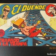 Tebeos: DUENDE, EL (1961, MAGA) 31 · 23-VIII-1961 · ATRAPADO EN LA TRAMPA. Lote 251465865