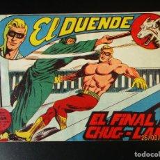 Tebeos: DUENDE, EL (1961, MAGA) 32 · 30-VIII-1961 · EL FINAL DE CHUG LANG. Lote 251467295