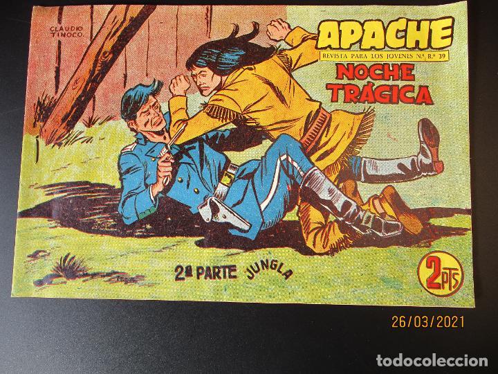 APACHE (1960, MAGA) -2ª PARTE- 75 · 22-IX-1961 · NOCHE TRAGICA (Tebeos y Comics - Maga - Apache)
