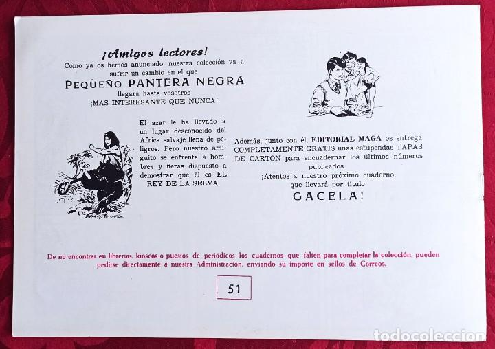 Tebeos: Apache - Original - Año 1958 - Núm. 51 - Fuego Vengador - Foto 3 - 251541725