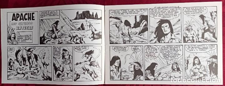 Tebeos: Apache - Original - Año 1958 - Núm. 49 - Los ultimos Aztecas - Editorial Maga - Foto 2 - 251541945