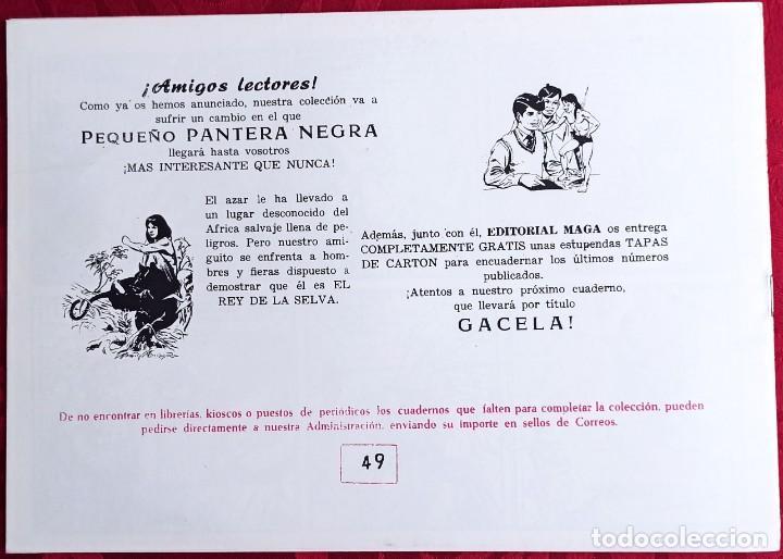 Tebeos: Apache - Original - Año 1958 - Núm. 49 - Los ultimos Aztecas - Editorial Maga - Foto 3 - 251541945