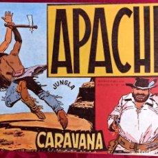 Tebeos: APACHE - ORIGINAL - AÑO 1958 - NÚM. 14 - CARAVANA - EDITORIAL MAGA. Lote 251542200