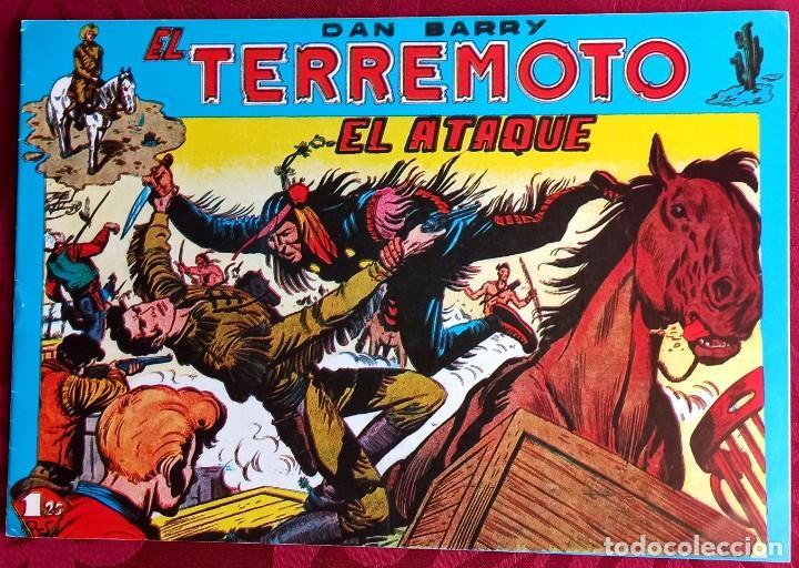 EL TERREMOTO DE DAN BARRY - ORIGINAL - AÑO 1954 - NÚM. 21 - EL ATAQUE - BUEN ESTADO DE CONSERVACION (Tebeos y Comics - Maga - Apache)