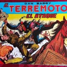 Tebeos: EL TERREMOTO DE DAN BARRY - ORIGINAL - AÑO 1954 - NÚM. 21 - EL ATAQUE - BUEN ESTADO DE CONSERVACION. Lote 251542815