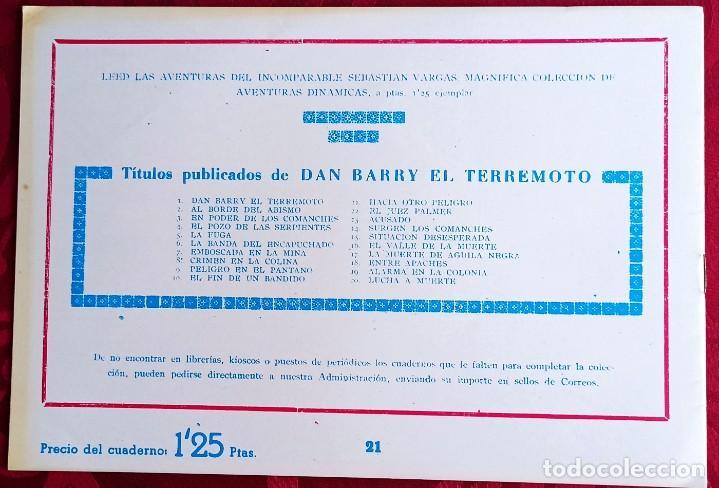 Tebeos: El TERREMOTO de Dan Barry - Original - Año 1954 - Núm. 21 - El Ataque - Buen estado de conservacion - Foto 2 - 251542815